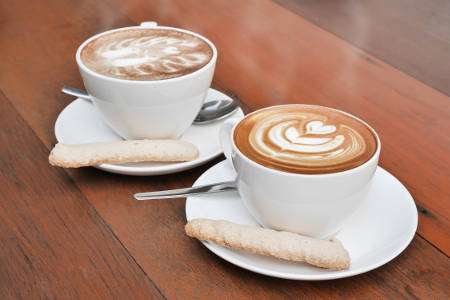 Relax with a friend and your favourite hot drink at Elderflower Cottage